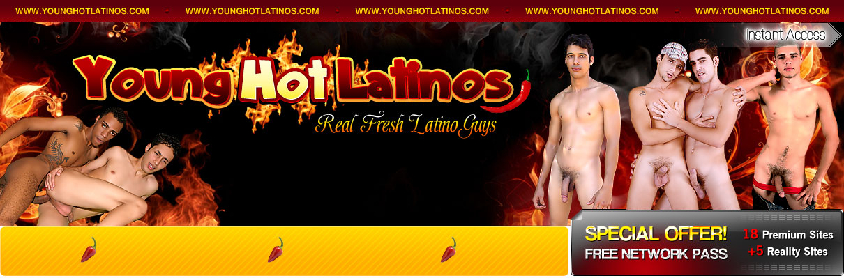 Young Hot Latinos
